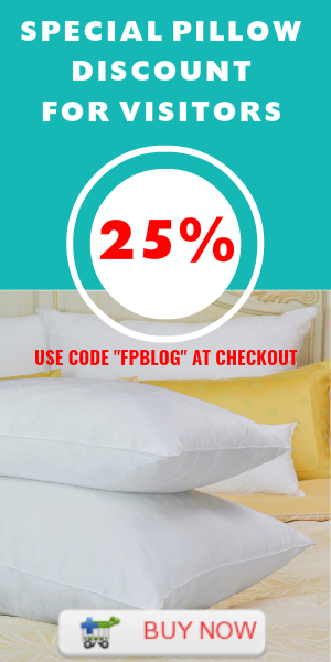 Fine Pillow Offer Discount for Visitors